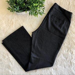 Eileen fisher gray dress pants wool 8 petite